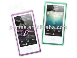 1.8 inch 7th gen clip touch screen mp4 player with FM/TF slot
