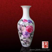 Flower Design Porcelain Vase Famous Ceramic Artists