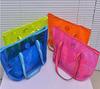 fashion clear transparent waterproof PVC beach bags