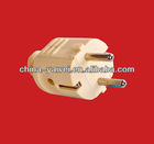 good quality european plug schuko style/plug with earthing