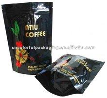 stand up tea bag pouch /aluminum foil tea bag bag pouch/plastic zip lock tea bag