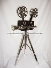 Antique movie projector