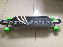 38 inch 7ply complete 100% canadian maple wood longboard best skateboards