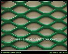 Custom sized ! Trailer metal box expandable sheet metal diamond mesh
