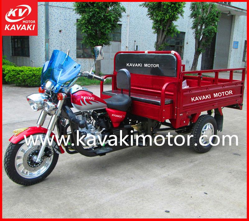 Gangzhou KAVAKI MOTOR supplier MTR 3-wheel motorcycle Africa Market