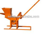 QMR2-40 hand operated clay brick making machine soil brick making machine in india for sale