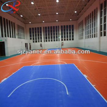 Indoor Interlocking Plastic Basketball Flooring