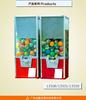 hottest DARDONWIN animation arcade amusement acrylicl red spiral gumball balloon vending machine for sale