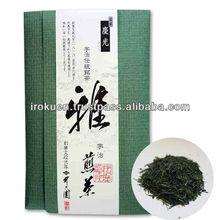 Fresh and tasty sencha tea leaf health food with flavorful taste