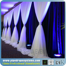 RK,wall decorations for wedding ,wedding pipe and drape backdrop with Uprights/Base Plate