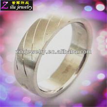 316L custom stainless steel latest gold rings design for women