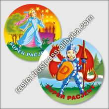 3d print lenticular magnet / promotional fridge magnet / custom sticker