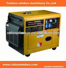 good service semi-automatic Diesel Generators backup emergency power generator