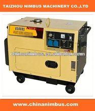 low price semi-automatic Diesel Generators water cooled honda generator