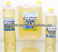 Soybean oil in 1 liter bottles