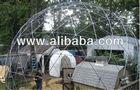 Geodesic Dome Walk-in Outdoor Aviary Flight Cage Animal Pen - 30 ft Diameter