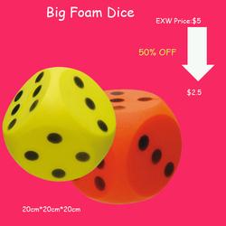 2014 new design EVA foam dice
