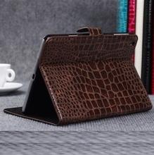Crocodile pu leather case for ipad mini 2