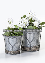 Zinc pot, Zinc Planter ,flower pot