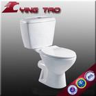 china ceramic siphon vortex two piece toilet bowl