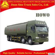 Sinotruk HOWO 8X4 oil tank truck/oil tank truck dimension
