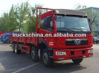 FAW LHD/RHD Lorry Truck Cargo Box Truck 8x4 20t