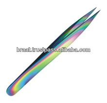 BEST Lash Extension Tweezers / Titanium Color Coated Eyelash Extension Tweezers / Best Eyelash Extension Tweezers For Big Brands