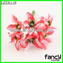 Artificial paper flowers wedding wall decorations