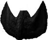 Black Cotton 25 Yards Belly dance Skirt Tribal dance