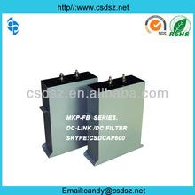 Special Filter DC Capacitor 3000VDC 20000UF