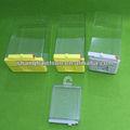 Projetado diferentes alfa eas mais seguro, caixas de plástico transparente, acrílico caixa de gancho, gellie shaver segura,