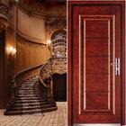 steel security french doors(YF-9079)