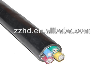 PVC Insulated Aluminum Conductor Low Voltage Cable