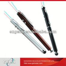 3 in 1 laser pointer stylus pp box gel pen pen