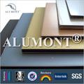 el revestimiento exterior de hojas de aluminio compuesto