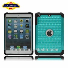 Bling Diamond Case for Apple iPad mini 2, Rubber Silicone Case for iPad mini ii