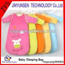 baby sleeping bag with sleeves cotton baby sleeping bag