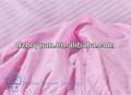Baixo preço do poliéster 50% 50% algodão cvc 50/50 40*40 140*90 reativa tingido de cetim da listra de tecido