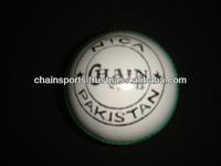 white cricket ball