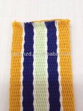 Precio de fábrica de la marina de guerra azul / 100% de algodón de las correas de la correa de la tela militar
