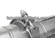 2.5 inch aluminium v band turbo clamps for manifold wastegate downpipe