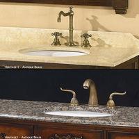 Bathroom cabinet cheap granite vanity top with vessel sink