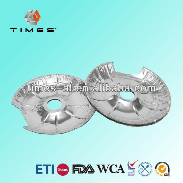 Disposable Round Aluminium Foil Burner Mat