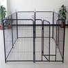 dog crate/metal wire dog cage