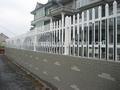 Fabrik dekorative zäune/schmiedeeisernen zaun für wohngebiet
