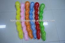 spiral shape balloon factory direct