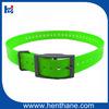 Fluo Green pet collar TPU,dog collar remote