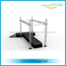 RK aluminum tube 6082-T6 truss bridge