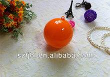 Shenzhen hot sale colorful christmas ball plastic christmas balls wholesale