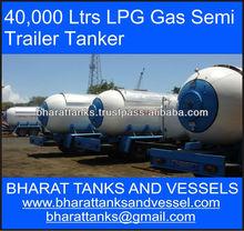 40,000 Ltrs LPG Gas Semi Trailer Tanker